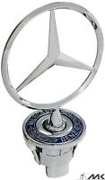 Mercedes Bonnet Hood Badge Emblem Logo C E S CLK Class 44mm metal