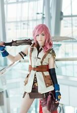 Final Fantasy XIII FF 13 Lightning Cosplay Costume Taille S