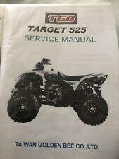 T G B Quad Work Shop Manual 525 Target