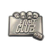 NEW Fight Club Brad Pitt Logo Metal Belt Buckle Retro TV Show - USA RARE!