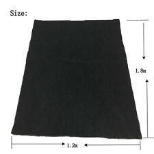 Carbon Fiber Welding Blanket shield plumbing heat sink slag fire felt1.2*1.8*6mm