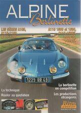 RETRO PASSION HS2 BERLINETTE ALPINE A110 1100 1300 1500 1600 S 1600 SC 1600 SX