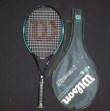 """Wilson Nemesis Iv 7.6si Tennis Racquet 4 5/8"""" Grip Superlight power system #2263"""