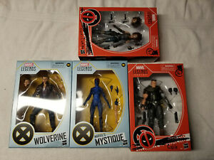 Marvel Legends Deadpool 2 movie Domino & Cable X-Men Wolverine Mystique lot