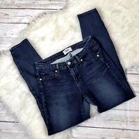 PAIGE Verdugo Dark Wash Skinny Ankle Stretch Jeans Size 27