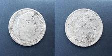 Louis-Philippe 1er - demi franc 1844 W, Lille - F.182/113