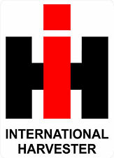 "#G100 (1) 20"" IH International Harvester Farm Trailer Wall Decal Sticker"