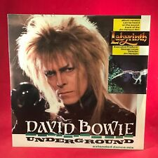 "DAVID BOWIE Underground 1986 UK 12"" vinyl single EXCELLENT CONDIT Labyrinth  B"