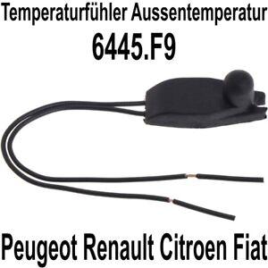 Außentemperatur Temperatur Sensor passend für Citroen Peugeot Renault 6445.F9