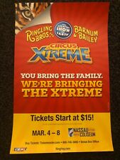 More details for xtreme ringling bros barnum &bailey circus poster cirque affiche last ever tour