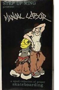 MANUAL LABOR NSS Step Up Ring Baggy 90's Hip Hop Rare Skateboarding VHS