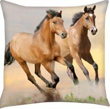 Herding Kissen Dekokissen Kinderkissen Pferde Pferd Galopp  40 x 40 cm neu