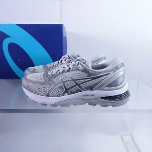 Size 6.5 Women's ASICS GEL-Nimbus 21 Running Shoes 1012A156-020 Mid Grey/Silver