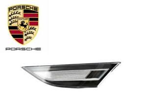 Porsche 911 991 981 718 LED EU White Side Marker Light Left Genuine 99163125506