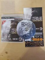 MEDAL OF HONOR LIMITED EDITION (Sony PlayStation 3) PS3 GAME COMPLETE CIB