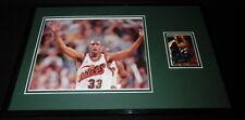Hersey Hawkins Signed Framed 11x17 Photo Display Sonics Bradley