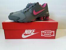 NIKE Shox Avenue Youth GS Gray Pink Running Shoes Sz 7Y / Women's 8.5 848117 006