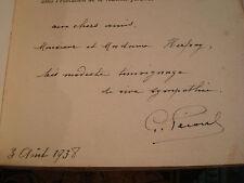 Georges PÉCOUL Deux promenades en Corse - Une semaine en Italie 1938 E.O. Envoi