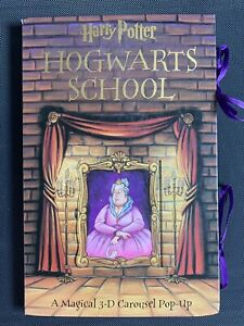 Harry Potter Hogwarts School A Magical 3-D Carousel Pop-Up Book, Hardcover