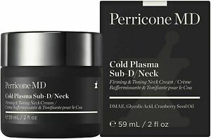 Perricone MD Cold Plasma Sub-D/Neck, 59ml, Firming & Toning Neck Cream, BNIB.