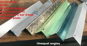 90 degree folded corner protector unequal angle -various materials -  many sizes