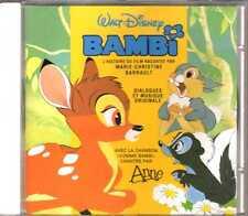 Walt Disney - Bambi (L'histoire du film + Musique et chansons) - CD - 1997 -Anne