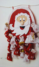 Adventskalender Nikolaus zum selbst Befüllen Advent Kalender Weihnachten rot