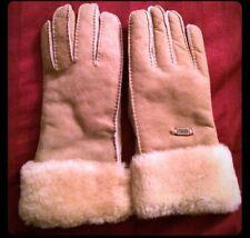 New Emu Tan Gloves Size M/L - Very Warm & Stylish!
