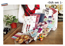 NEW Gift Bag Wrapping Set / Korean Stationery / Cello + Paper Bags Stickers Pack