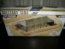 1/72 Military Tent 2 Set Diorama Package by Toxsomodel NICE!