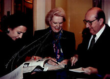 MAUREEN FORRESTER opera contralto signed candid photo 1993