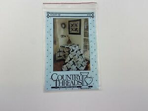 Country Threads Flight 159 Wallhanging Quilt Pattern Plane Sky