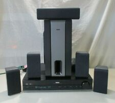 RCA RT2380BK AUDIO VIDEO HOME THEATER SURROUND SYSTEM EXCELLENT WORKING CONDITIO