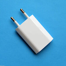 100PCS/LOT USB AC  Charger EU Plug Power Adapter Wall Travel Charger for iphone