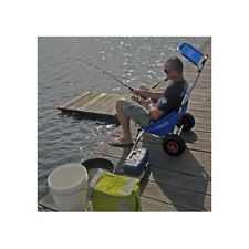 Blue Fishing, beach, trolley carry all cart and then use as a seat beach mate