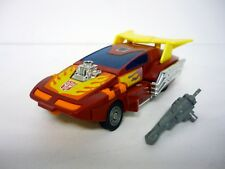 TRANSFORMERS HOT ROD Vintage G1 Action Figure Metal Feet NEAR COMPLETE 1986