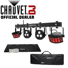 Chauvet Gig Bar Flex 3-in-1 DJ Disco DMX LED Derby Par Strobe Lighting Effect