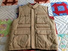 INSULATED 11 POCKET HUNTER, PHOTO, HIKER LUMBERJACK VEST MENS M EUC! (G3)