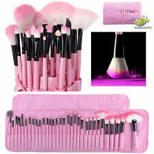 32Pcs Makeup Brushes Professional Soft Cosmetic Eyebrow Make-up  Bag Tools