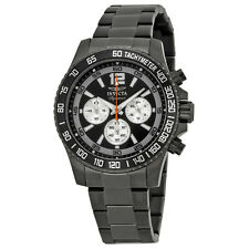 Invicta Signature II Divers Chronograph Black Dial Mens Watch 7412