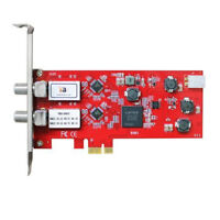 TBS 6902 DVB-S2 Dual Tuner HD Satellite PCIe Tuner Card Watch Record TV on a PC