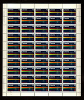 NO 613 RCMP CENTENARY, SPECTROGRAPH - POLICE SCIENCE , UNFOLDED FULL SHEET NH