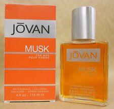 Jovan Musk For Men Aftershave Cologne By Jovan 4 Fl Oz New In Box