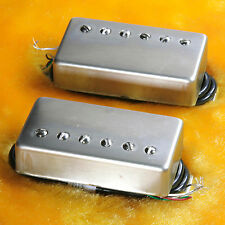 Lindy Fralin Pure P.A.F. Custom 5% OVER P/U Vintage Nickel Covers 4 Cond Leads