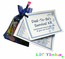 Dad to Be/New Daddy Survival Kit - 15 Items - Baby Shower Gift, Favour, Present