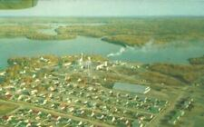 ON CN - RED LAKE MINING AREA AERIAL VIEW POSTCARD, COCHENOUR, ONTARIO