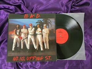 B.A.D. No. 10 Upping St Vintage Vinyl LP PROMO 1986 UK Press CBS 450137 1 EX/VG+