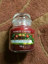 YANKEE CANDLE RED APPLE WREATH SMALL JAR CANDLE