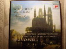 CD, Schubert, Mass in B-flat D 324, Mass in C d452
