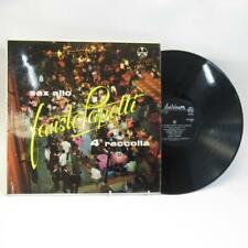 Vinyl Lp Album Fausto Papetti Sax Alto 4a Raccolta, Disco Durium Pye Record 1965